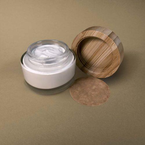 Tiegel geöffnet - Deocreme ohne Duftstoffe
