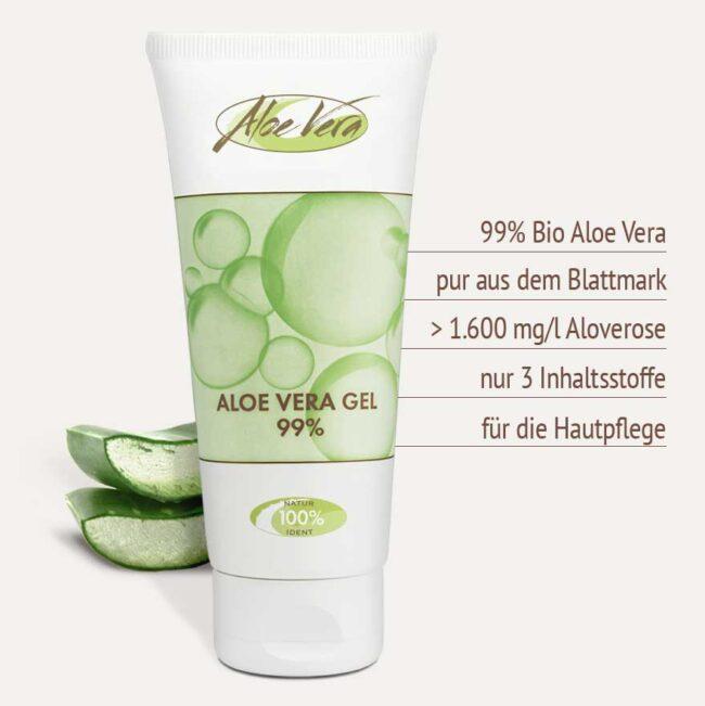 Reines Aloe Vera Gel 99%