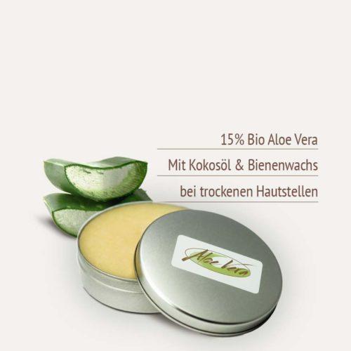 Naturkosmetik Bodybutter mit Aloe Vera Produktvorteile