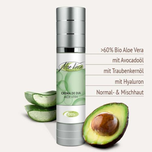 Naturkosmetik Tagescreme mit Aloe Vera Produktvorteile